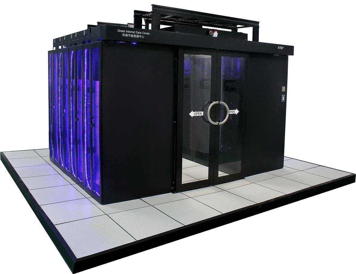 IDC数据中心微模块冷通道系统